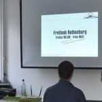 Freifunk Rothenburg beim Vortrag